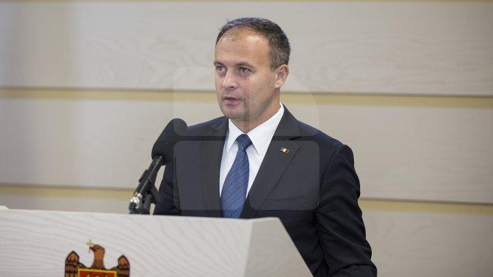 Andrian Candu a avut o întrevedere cu delegația comună a Comisiei de la Veneția și OSCE/ODIHR
