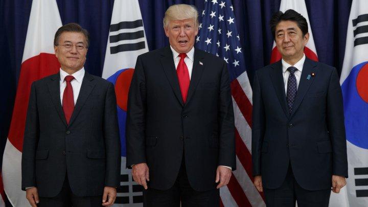 În meniul lui Donald Trump din Coreea de Sud a fost inclus un sos de soia de 360 de ani