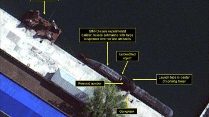 ÎNGRIJORĂTOR! Ce detalii au surprins sateliții deasupra unui șantier naval din Coreea de Nord