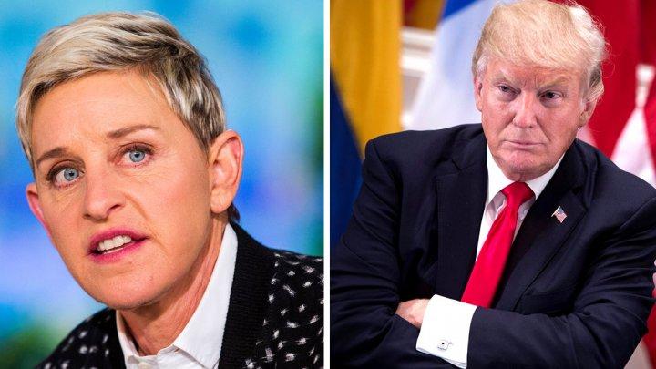 Prezentatoarea Ellen DeGeneres îl acuză pe Donald Trump că încurajează americanii să ucidă elefanți