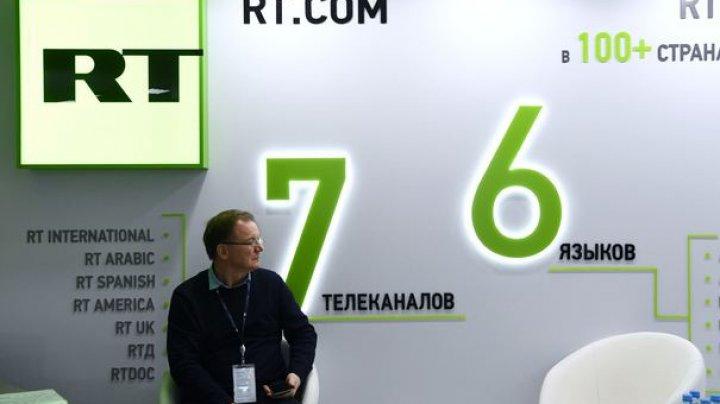 Instituţia media rusă RT s-a înregistrat ca agent străin în SUA