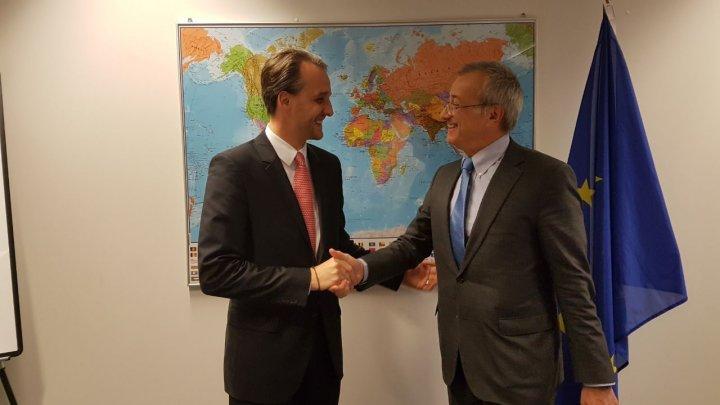 Perspectivele colaborării Moldovei cu UE pe segmentul apărării, discutate la Bruxelles de ministrul Apărării şi oficiali europeni