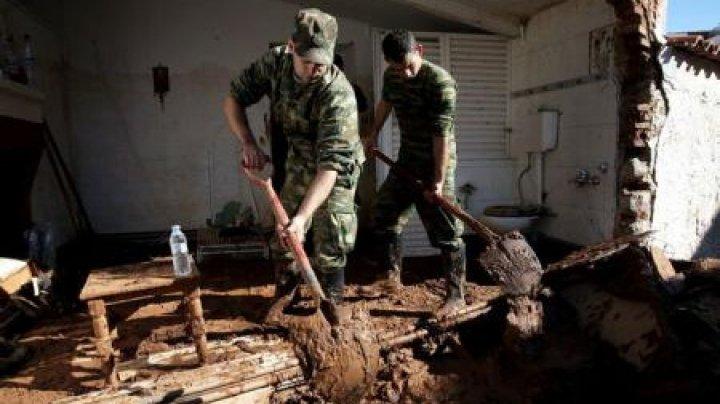Inundații în Grecia: Bilanțul a urcat la 23 de morți