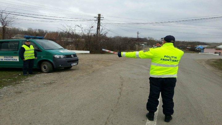 Un bărbat fără permis de conducere, depistat de polițiștii de frontieră la volanul unui autoturism de lux