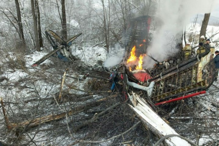 Accident aviatic în Rusia. Un avion de mici dimensiuni s-a prăbuşit în regiunea Amur (FOTO)