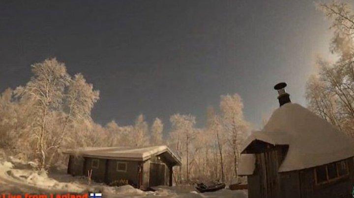 Casele s-au cutremurat! Un METEORIT a lovit Laponia, ţara lui Moş Crăciun (FOTO)