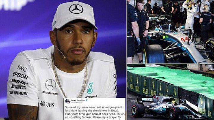 Membrii echipei Mercedes de Formula 1, ameninţaţi şi jefuiţi în Brazilia, în penultima etapă a sezonului