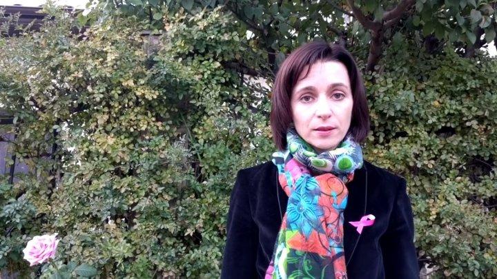 Maia Sandu iritată de prezenţa lui Băsescu în Republica Moldova: Vine aici pentru că s-au terminat funcțiile în România și partidul lui are scor mic