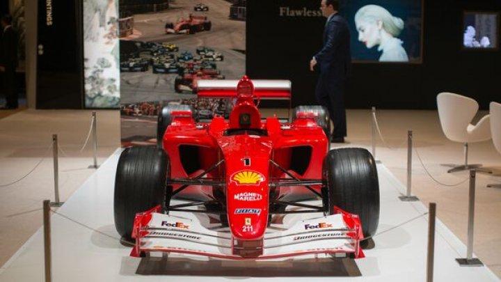 O mașină de Formula 1 condusă de Michael Schumacher, vândută la licitație. Preţul este FABULOS