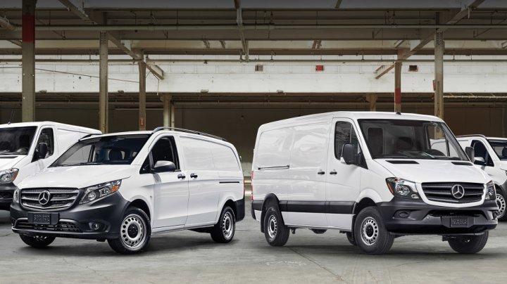 Daimler pregătește versiuni electrice pentru toate vehiculele comerciale de la Mercedes-Benz