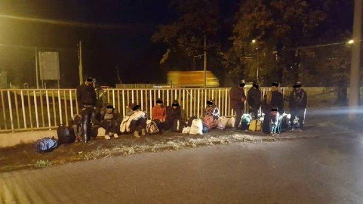 17 migranţi din Irak, printre care 5 copii, au fost găsiţi sub un pod la Timişoara