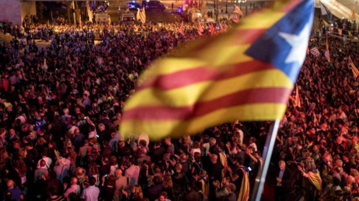 Miting de amploare la Barcelona, pentru eliberarea liderilor separatişti închişi