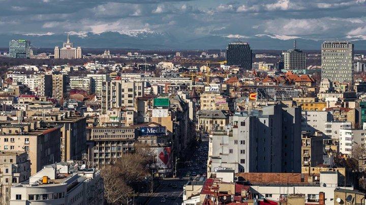 IMAGINE ULUITOARE! Munții Carpați au putut fi văzuţi din centrul Bucureștiului (FOTO)