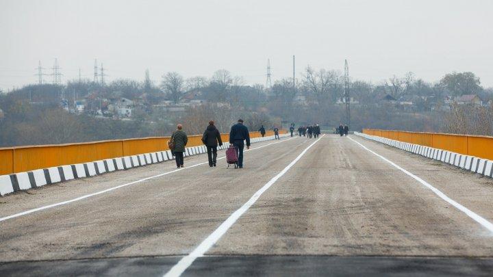 Podul peste Nistru, redeschis. Pavel Filip: O etapă în eliminarea barierelor în calea liberei circulaţii şi o îmbunătăţire economică