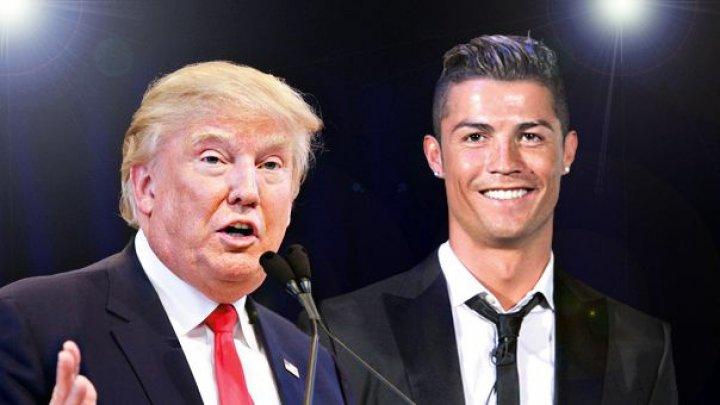 Cristiano Ronaldo a fost înjosit crunt de către liderul de la Casa Albă, Donald Trump