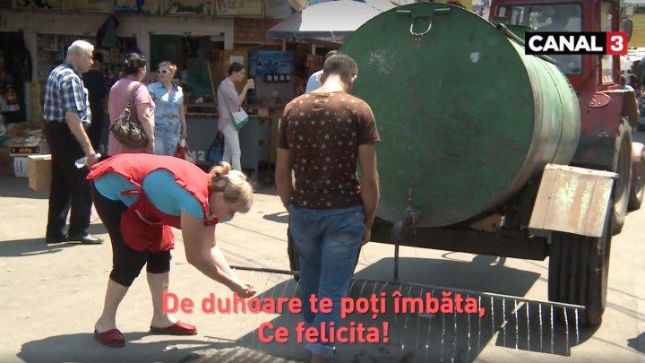 """""""Imnul"""" Pieței Centrale, viral pe Facebook. Peste jumătate de milion de oameni au văzut clipul (VIDEO)"""