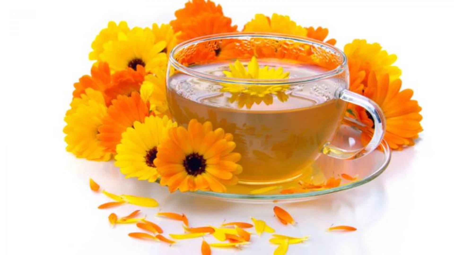 ceaiul de galbenele slabeste