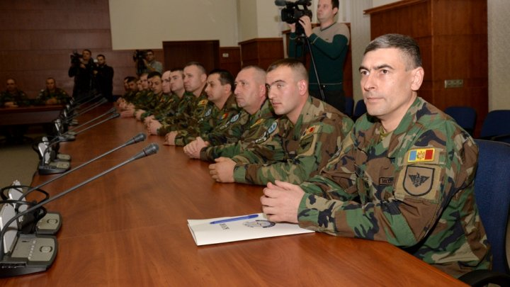 Cel de-al şaptelea contingent al Armatei Naţionale, detaşat în Misiunea KFOR, la 2 iunie 2017, a revenit în Moldova