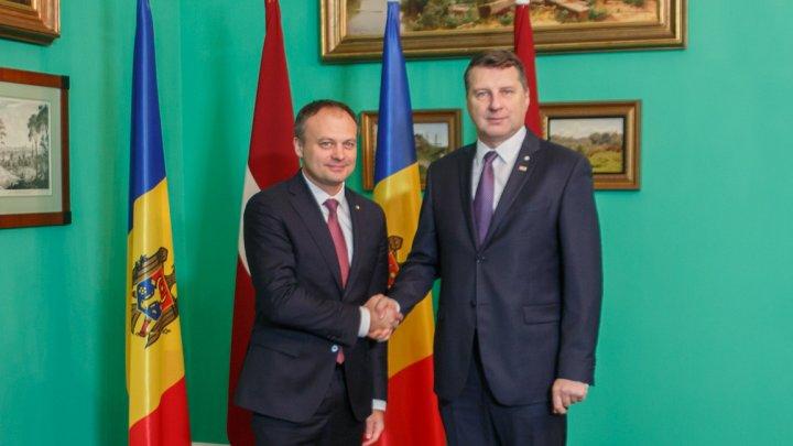 Preşedintele Letoniei, Raimonds Vējonis: Vedem Republica Moldova ca un partener în cadrul Uniunii Europene