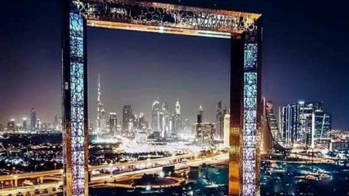 Un zgârie-nori de aur, noua atracţie turistică în Dubai (VIDEO/FOTO)