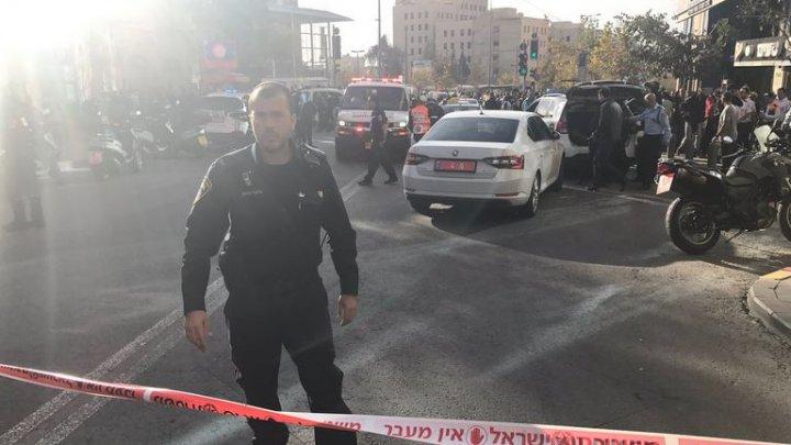 Un israelian a fost grav rănit de un palestinian la Ierusalim. Suspectul a fost arestat