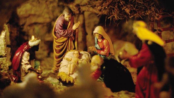 Cadou de sărbători. La Betleem a fost expusă scena Naşterii Domnului