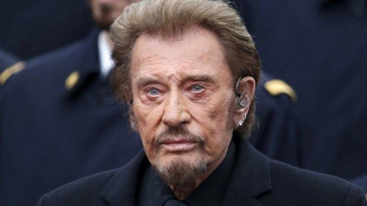 DOLIU în lumea rock-ului. A murit Johnny Hallyday