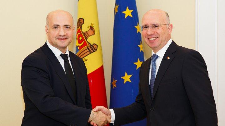 Premierul Pavel Filip a avut o întrevedere cu şeful reprezentanței BERD în Republica Moldova
