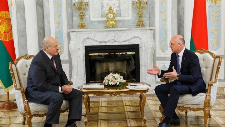 Relațiile moldo-belaruse, discutate de Premierul Pavel Filip și Președintele Republicii Belarus, Alexandr Lukașenko