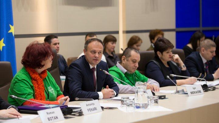 Andrian Candu: Republica Moldova s-a înscris în familia statelor care au recunoscut importanța activității de voluntariat