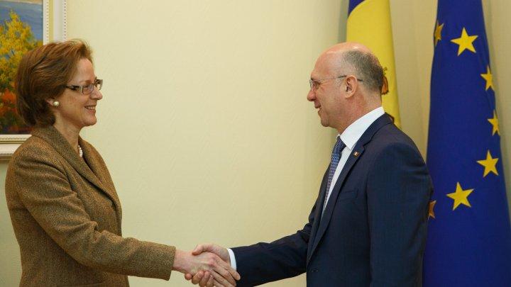 Filip s-a întâlnit cu Monar: Moldova doreşte paşi concreţi pentru consolidarea încrederii între cele două maluri ale Nistrului