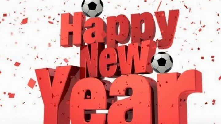 Felicitări de REVELION din partea fotbaliștilor moldoveni