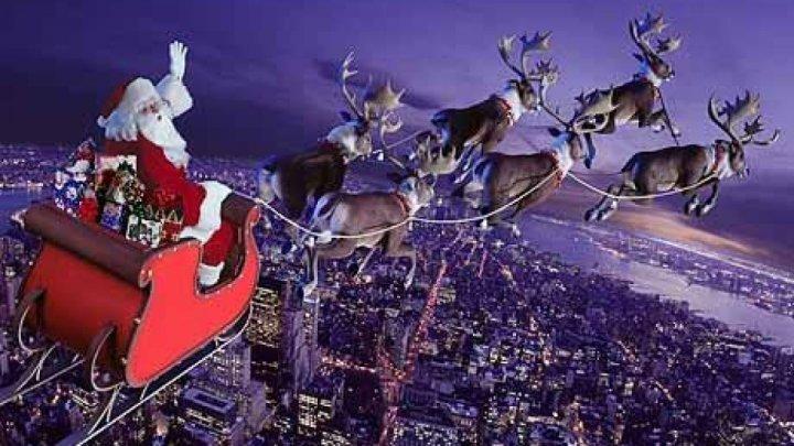 Moş Crăciun a pornit la drum şi împarte daruri copiilor. Urmărește traseul în timp real