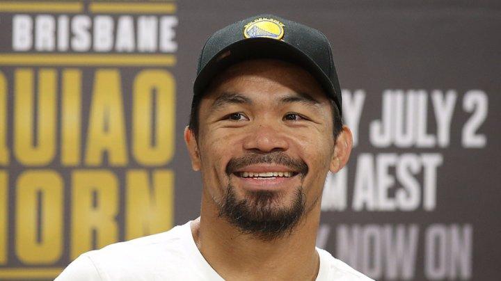 Fostul boxer Manny Pacquiao a devenit colonel în armata din Filipine
