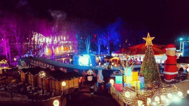 Feerie şi atmosferă de sărbătoare la Orhei! Cum arată Târgul de Crăciun