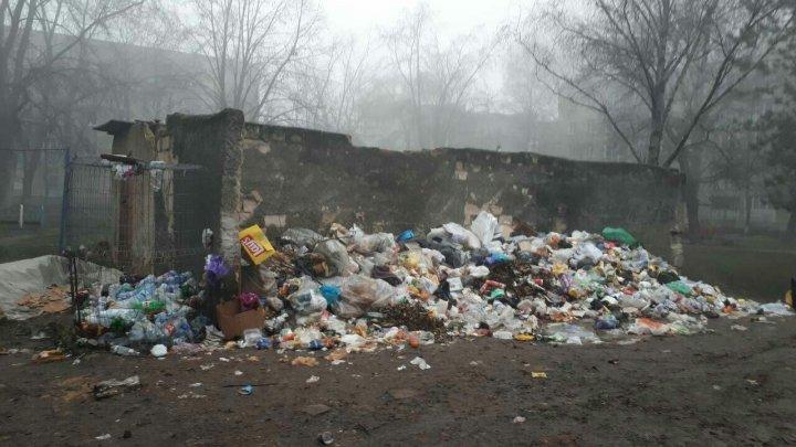 Oraşul Bălţi, focar de infecţie şi epidemie din cauza deşeurilor. Munţi de gunoaie sunt pe străzi (FOTOREPORT)