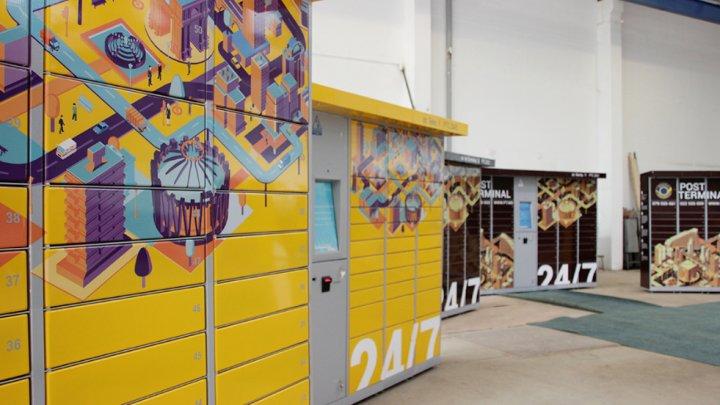 Zece noi post terminale au fost deschise de către Poșta Moldovei. Unde sunt amplasate (FOTO)