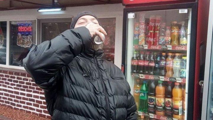 Un bărbat, fără permis auto, a fost prins la volanul unei mașini cu alcoolemie de 2,55 mg/l (VIDEO)