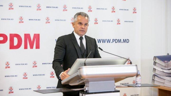 Vlad Plahotniuc: Am reușit să stabilizăm economic țara. Fiecare sat va avea un drum asfaltat
