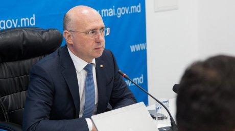 Premierul Pavel Filip a cerut să fie luate toate măsurile pentru reconectarea CÂT MAI RAPIDĂ a localităților la energia electrică