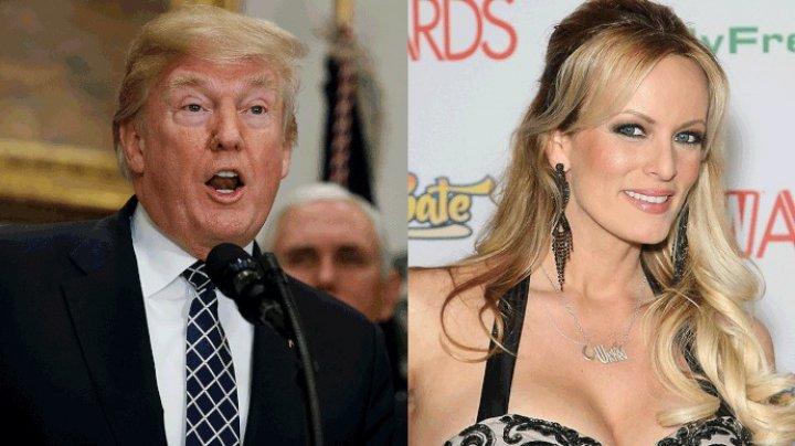 Donald Trump i-a cumpărat tăcerea unei actriţe de filme pentru adulţi cu 130.000 de dolari