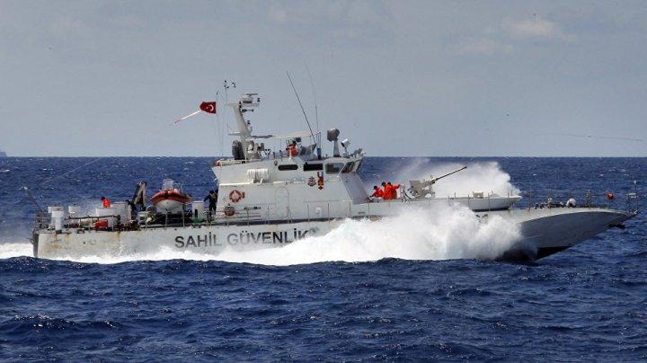 Două nave militare, una turcă şi cealaltă greacă, s-au ciocnit în Marea Egee