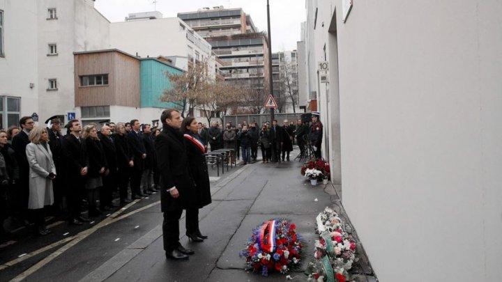 Franța comemorează trei ani de la atentatul terorist de la CHARLIE HEBDO