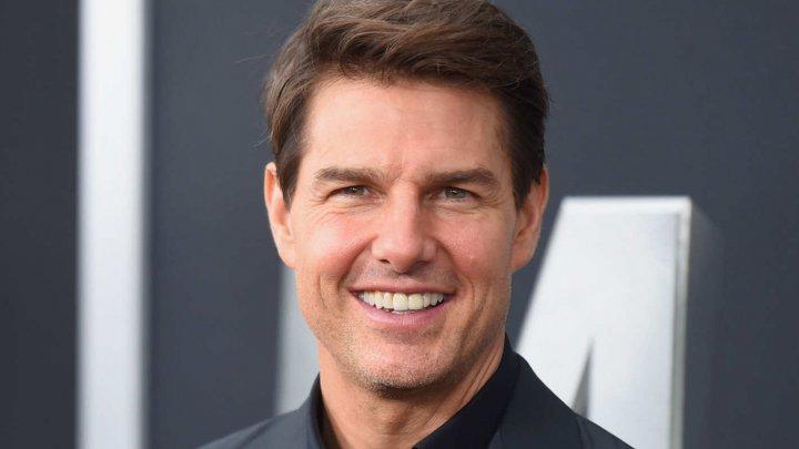 Trafic BLOCAT din cauza lui Tom Cruise. Actorul a executat o cascadorie pentru următoarea serie din franciza Mission: Impossible