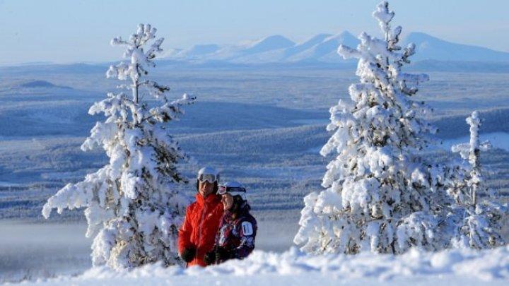 ATENŢIE călători! Cod portocaliu de furtună, vânt puternic şi zăpadă în Suedia