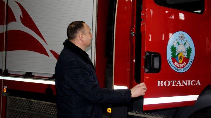 Tehnică și echipament de intervenție noi pentru pompierii din stânga Nistrului (FOTO)