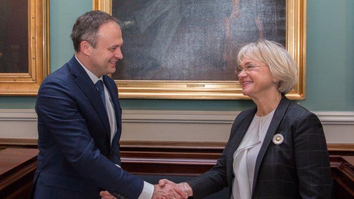 Candu a invitat președinta Folketinget la conferința internațională în probleme de securitate și integrare europeană
