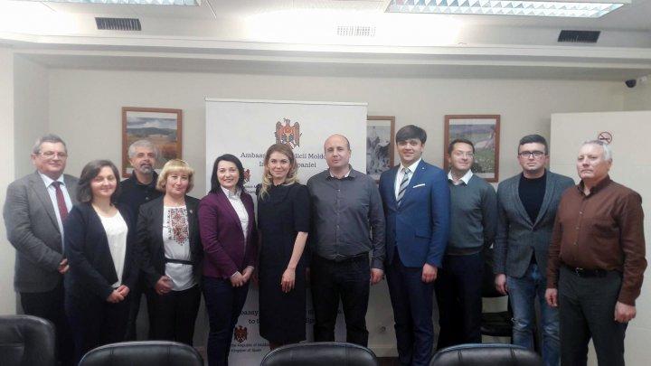 O delegație a BRD a avut întâlnire cu reprezentanții diasporei Republicii Moldova din oraşul Barcelona
