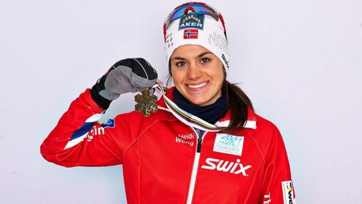 FINAL DRAMATIC. Norvegianca Heidi Weng a căzut cu câţiva metri înainte de linia de finiş