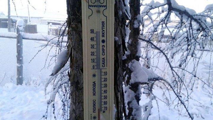 INCREDIBIL! În oraşul Oymyakon din Siberia a fost înregistată o temperatură de minus 62 de grade Celsius (FOTO)